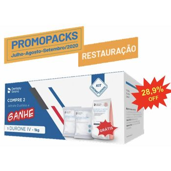 Alginato Jeltrate Regular Dustless Kit C/2 Gratis Durone Salmon Kg Dentsply