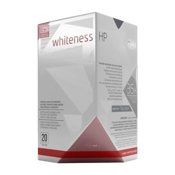 Clareador Whiteness Hp 35% Kit C/top Dam 10 Gr Fgm